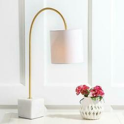 25 in Marble Brass Table Lamp Bedroom Nightstand Home Office