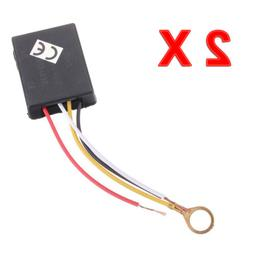 2P X 3Way Touch Sensor Switch Control for Repairing Lamp Des