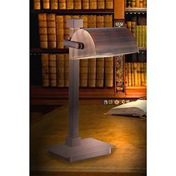 Kenroy Home 32008VC Welker Desk Lamp, Vintage Copper