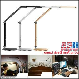 360Rotating Long Arm Desk Lamp Work Reading Folding Simple L