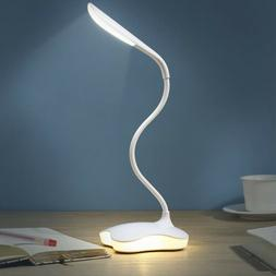 Dimmable Flexible 3 Modes USB LED Table Lamp Desk Light for