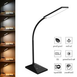 Dimmable LED Desk Lamp Touch with USB Charging Port 7 Bright
