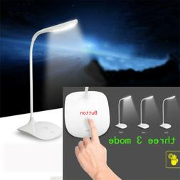 Dimmable LED Light Desk Lamp USB Rechargeable Eye-Protection