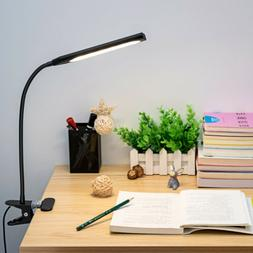 Kootion Modern Style Dimmable USB Clip-On Desk 48 LED Table