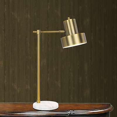 1526 24 inch marble and antique brass