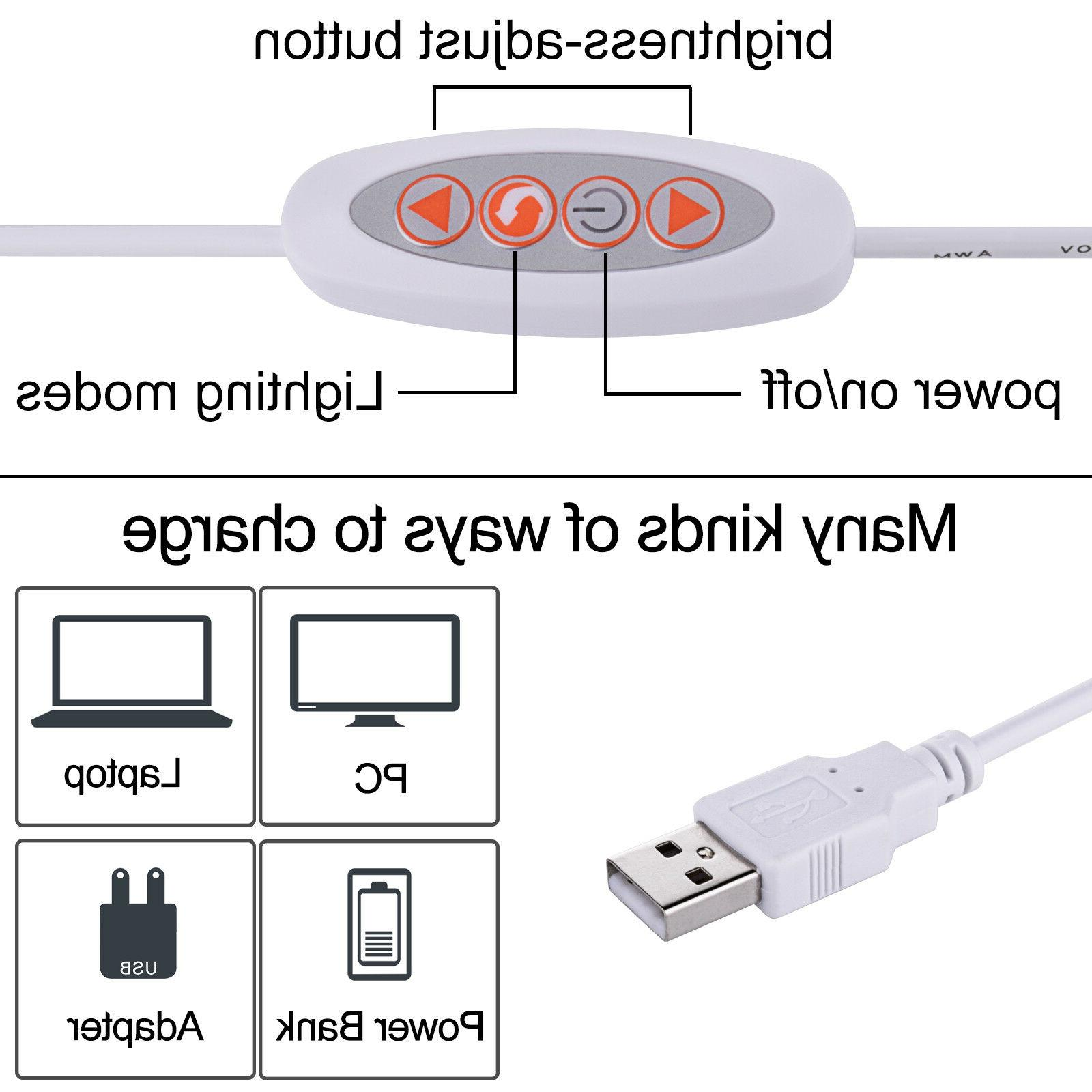 5W USB Clip-On Lamp 48 Reading