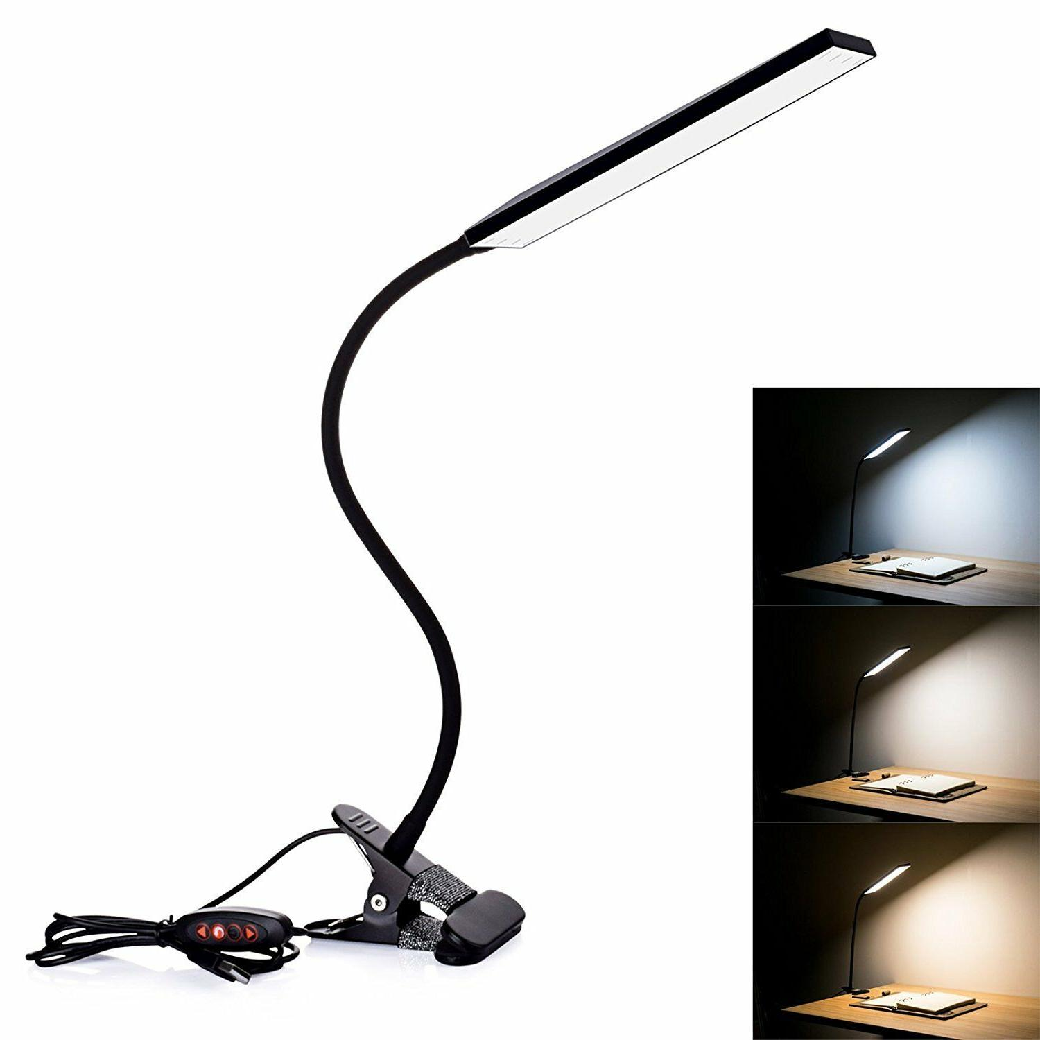 5W USB Desk Lamp LEDS Flexible Reading Dimmable Lamps