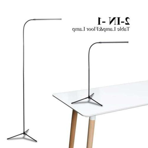 Adjustable LED Floor Light Standing Home Office Dimmable