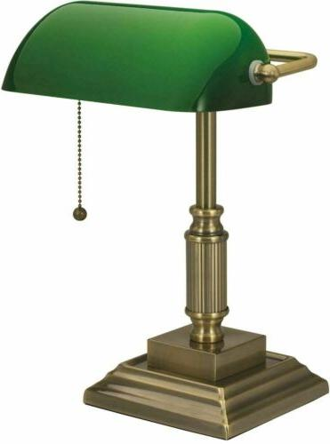 Antique Green Glass Home Lampshade