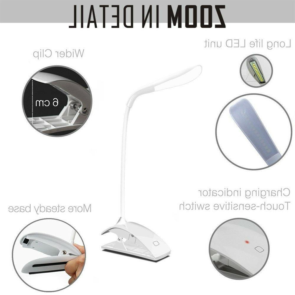 Desk Lamp, LED Table Bedside Office Dimmable