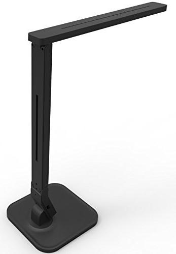 Dimmable Table Black, 4 Lighting 5-Level Control Panel, 5V/2A