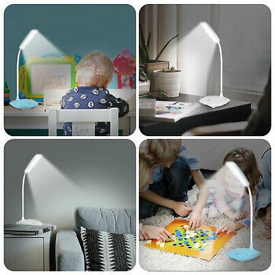 Dimmable LED Reading Lamp USB Rechargeable Control