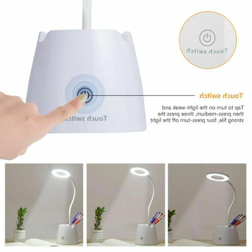 Dimmable Table Bedside Reading Touch USB