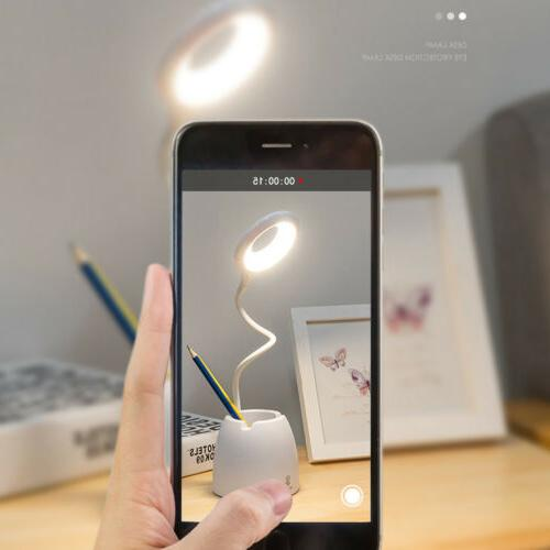 Dimmable Desk Light Table Bedside Reading Lamp Touch