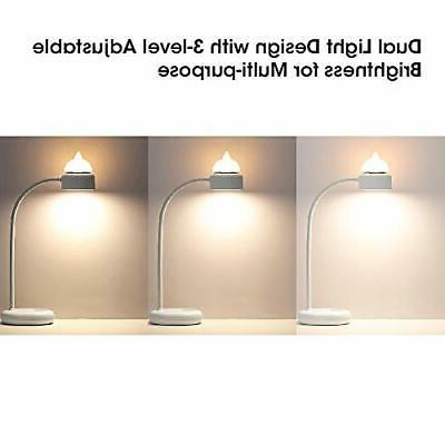 Cosaux LED Lamp, 2 Lighting with 3 Levels 360