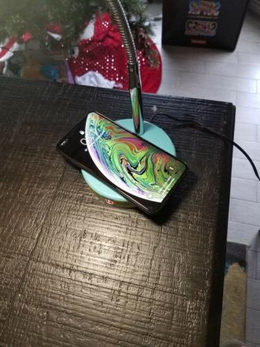Lamp Qi Wireless Charging And