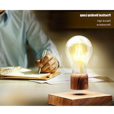 Magnetic Floating Desk LED Bulb TouchSwitch