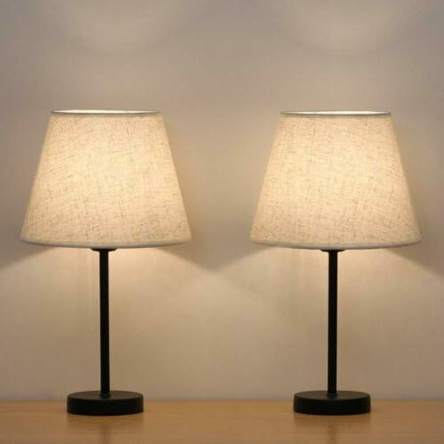 small nightstand lamps set of 2