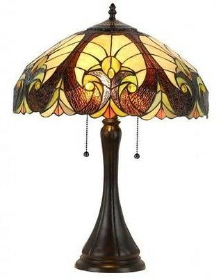 style victorian table lamp lamps shade decorative
