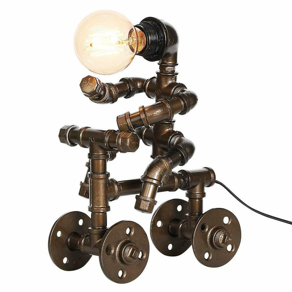 Unique Bedroom Table Lamp For Living Man Robot