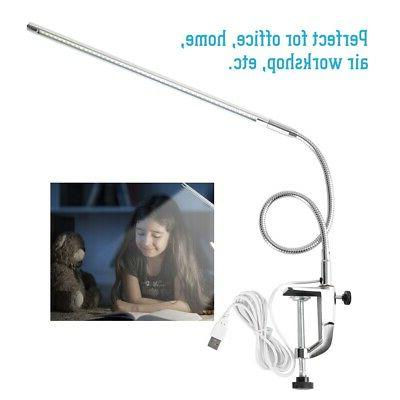 USB Lamp Clip Table for Manicure Reading Light