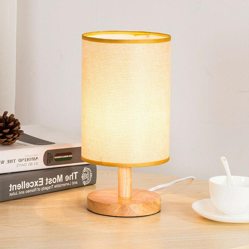 Wood Desk Lamp Kids College Free Shipping