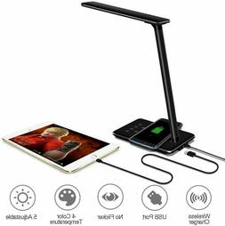 led desk lamp wireless charger for iphone