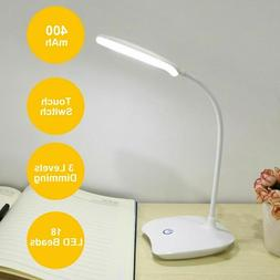 LED Desk Reading Lamp Dimmable Flexible 3 Models USB Recharg