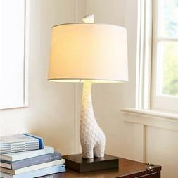 Modern Style Giraffe Shape Desk Light Table Lamp Bedroom Dec