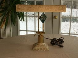 New, Stylish, French Lace - House of Troy Piano Desk Lamp wi