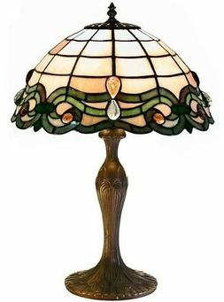 Tiffany Style Glass Table Lamp Lamps Shade Decorative Desk R