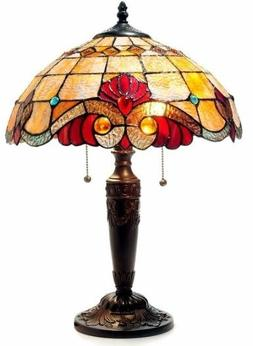 Tiffany Style Victorian Bronze Table Lamp Desk Chloe Lamps D