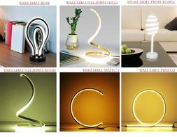 NUUR Table Lamp Curved Desk Light Bedside Bedroom Lamp Warm
