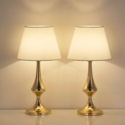 Table Lamp Set of 2 for Bedroom or Living Room,Table Desk La