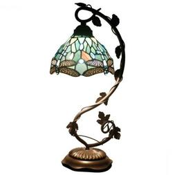 Tiffany Lamps Stained Glass Table Desk Reading Lamp Crystal