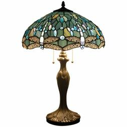 Tiffany Style Table Lamp Desk Beside Lamps 24 Inch Tall Sea