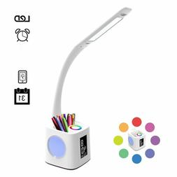Touch Sensor LED Light Dimmable Desk Table Reading Book Lamp