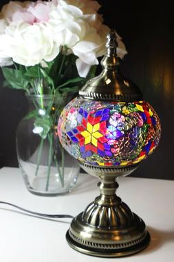 traditional turkish mosaic table desk bedside night